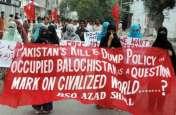 वीडियो: ब्रिटेन में बलूचिस्तान के कार्यकर्ताओं का प्रदर्शन
