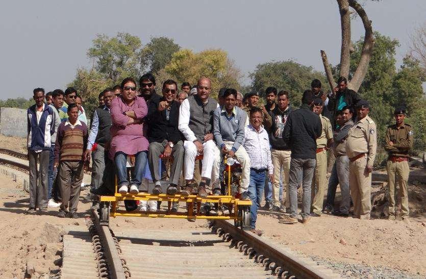 'लोकसभा चुनाव से पहले पूरा होगा पाटण-भीलडी रेल प्रोजेक्ट'