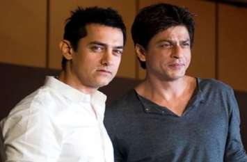 शाहरुख के फिल्म छोड़ने पर आमिर ने किया रिएक्ट, हैरानी जताते हुए कहा...