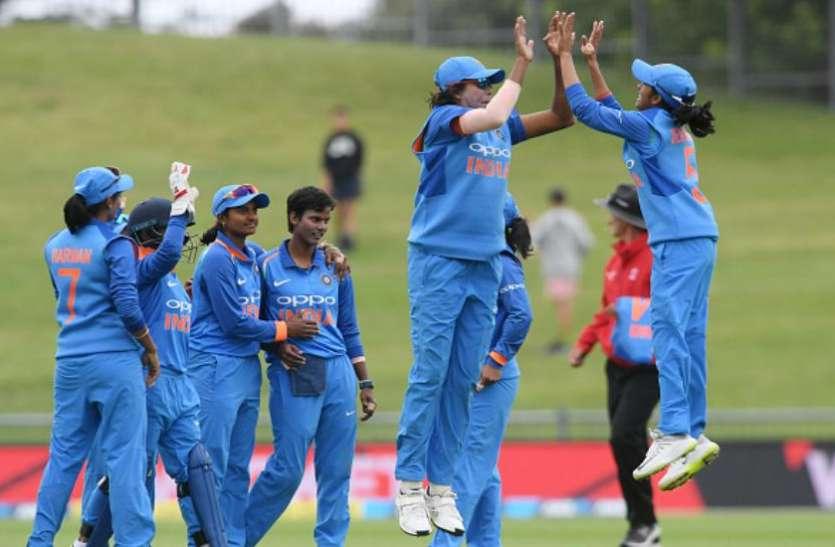 न्यूजीलैंड में भारतीय महिला टीम की ऐतिहासिक जीत, दूसरे वनडे में मेजबान को 8 विकेट से रौंदा