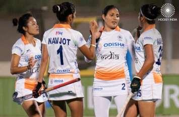 क्रिकेट के बाद हॉकी में भी जीती भारतीय महिला टीम, स्पेन को दी 5-2 से शिकस्त