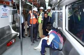 जयपुर मेट्रो फेज 1 बी निर्माण अगस्त 2019 तक कर लिया जाएगा पूरा