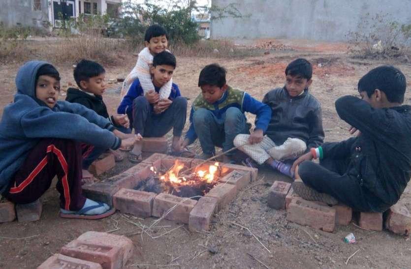 जिले में तेज सर्दी के चलते सुबह से रात तक लोगों का हाल बेहाल