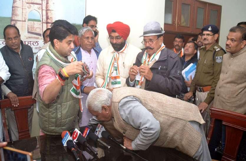 राजकुमार, जगन्नाथ, मलकीत कांग्रेस में शामिल, कहा भाजपा ने आयात कर लाए लोगों को दिए टिकिट