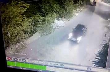 तेज रफ्तार से चालक ने कार सो रहे लोगों पर चढ़ाई, लोगों के चिल्लाने पर दोबारा कुचल कर भागा