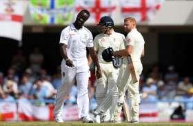 WI vs ENG : केमार रोच ने फिर बरपाया कहर, पहले दिन इंग्लैंड 187 रन पर ढेर