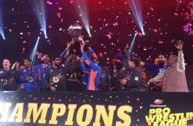 Pro Wrestling League : हरियाणा हैमर्स चौथे प्रयास में बना प्रो रेसलिंग लीग का विजेता