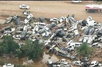 सऊदी अरब में आई बाढ़ से 12 की मौत, 170 घायल