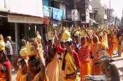 108 कुंडीय गायत्री महायज्ञ का हुआ आयोजन, 5000 महिलाओं ने निकाली भव्य कलश यात्रा