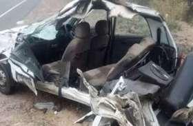एक ही गांव के आठ लोगों की मौत, बारात से लौटते समय बोलेरो पेड़ से टकराई