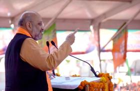 #RamMandir: राम मंदिर को लेकर अमित शाह ने किया यह बड़ा ऐलान,कांग्रेस व महागठबंधन को भी लिया आडे हाथ