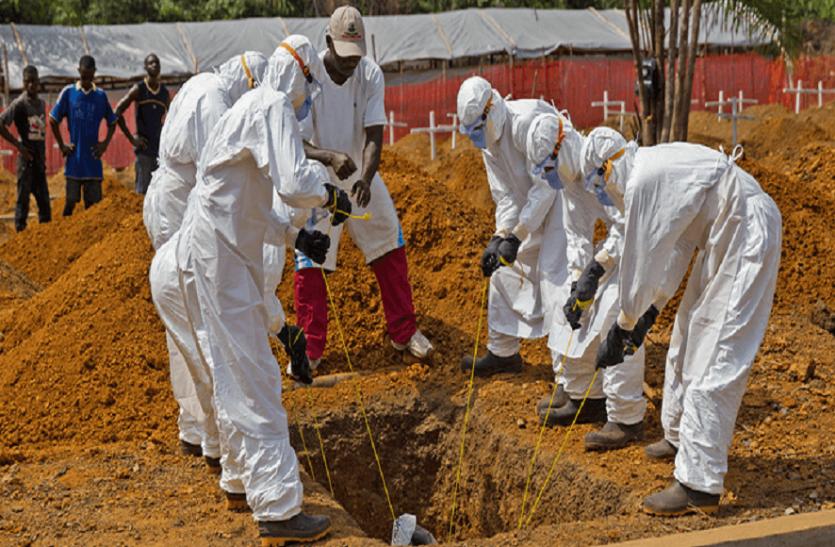 कांगो में इबोला का प्रकोप जारी, अब तक 759 से अधिक मामले आए सामने