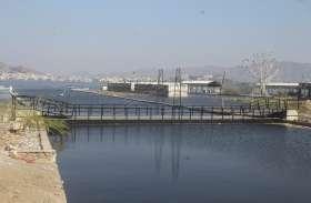स्मार्ट सिटी: सरकारी नुमाइंदे ही दे रहे आनासागर को 'जल समाधिÓ