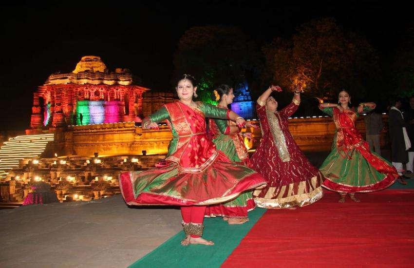 Uttarardh Festival in Modhera Surya Mandir