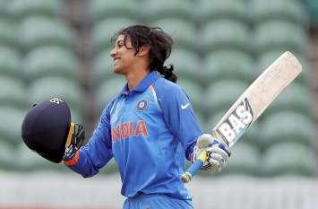 महिला वनडे रैंकिंग : तीन स्थान की छलांग लगाकर स्मृति बनीं नंबर-1 बल्लेबाज