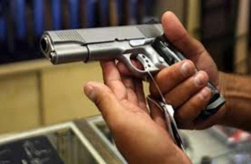 ...पकड़ा अवैध हथियार बनाने का कारखाना