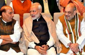 अमित शाह ने लाॉन्च किया भाजपा का संकल्प पत्र अभियान, पार्टी जनता से मांगेगी राय