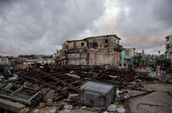 क्यूबा: चक्रवात के कारण अब तक 27 लोगों की मौत