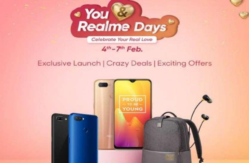 You and Realme Days सेल शुरू, डिस्काउंट के साथ मिल रहे हैं ये शानदार ऑफर्स