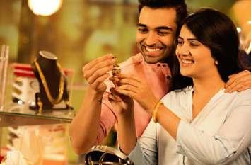 वैवाहिक मांग से सोने के दाम में 340 रुपए की बढ़ोतरी, चांदी में 100 रुपए की गिरावट