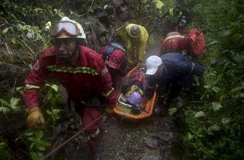 बोलीविया: हाईवे पर भूस्खलन से 11 लोगों की मौत, मलबे में दबी कई गाड़ियां