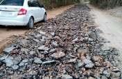 इस मुख्य सड़क निर्माण की 'कछुआ चाल' का खामियाजा भुगत रहे आमजन ,7 महीने बाद भी नही बनी सड़क