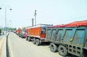 मनमाने रूट से कोयला परिवहन करते45 ट्रेलर जब्त, नशे में मिले चालक, कोल ट्रांसपोर्टरों में हड़कंप
