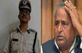 IPS को धमकी मामले में मुलायम पर चलेगा केस, कोर्ट का आदेश दरकिनार कर पुलिस ने दी थी क्लीन चिट