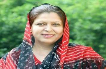 कांग्रेस विधायक सफिया खान ने इस पद से दिया इस्तीफा, खुद की घोषणा, देखें वीडियो