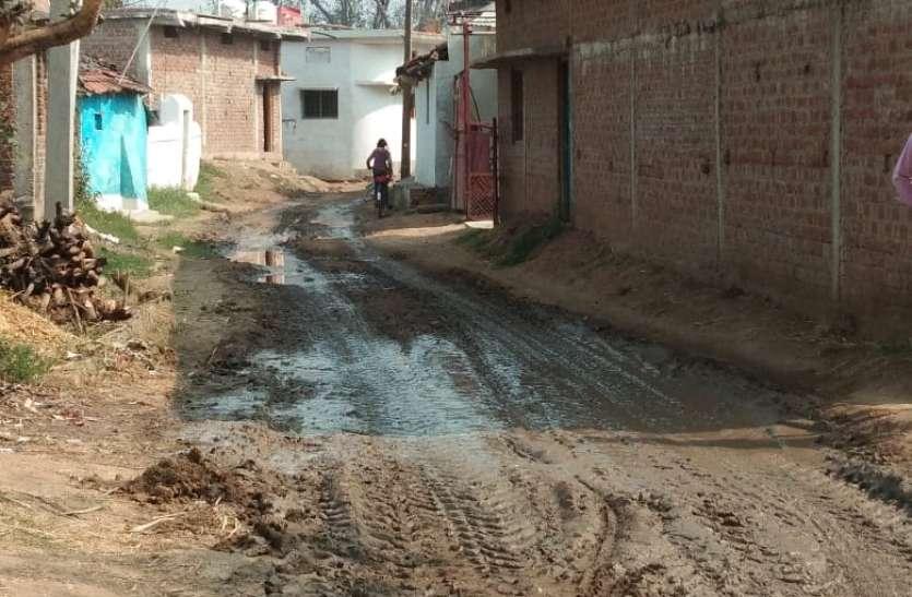 गांवों में उड़ रही स्वच्छता की धज्जियां