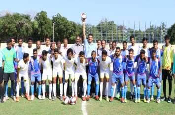 राष्ट्रीय फुटबाल टूर्नामेंट की मेजबानी कर रहा है एनएलसी