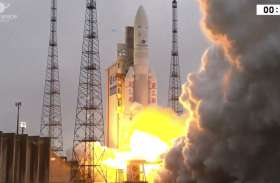 ISRO ने GSAT-31 उपग्रह को सफलतापूर्वक किया लॉन्च, समुद्री सीमाओं पर रखेगा नजर