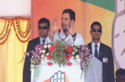 ओडिशा में गरजे राहुल,'चौकीदार चोर है-नवीन पटनायक रिमोट है' का नारा किया बुलंद