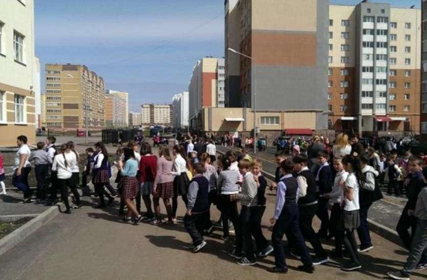 रूस में बम की अफवाह पर 100 इमरातों को कराया खाली
