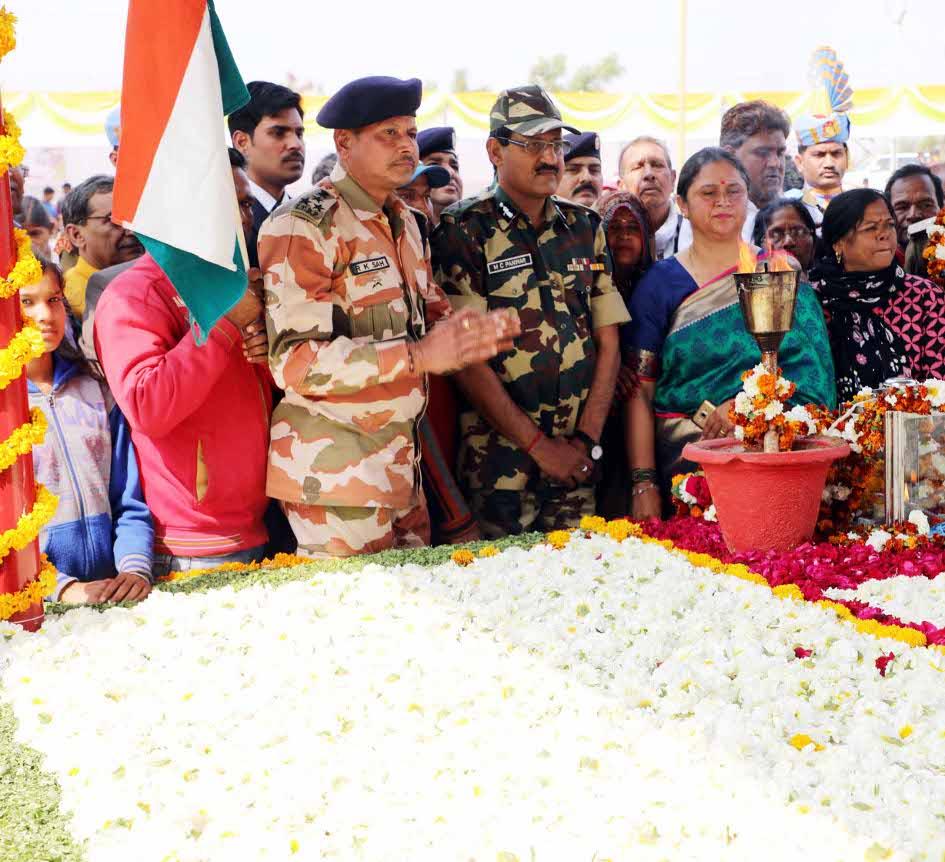 'शहीद सेनानियों के बलिदान से ही मिली हमें आजादी'
