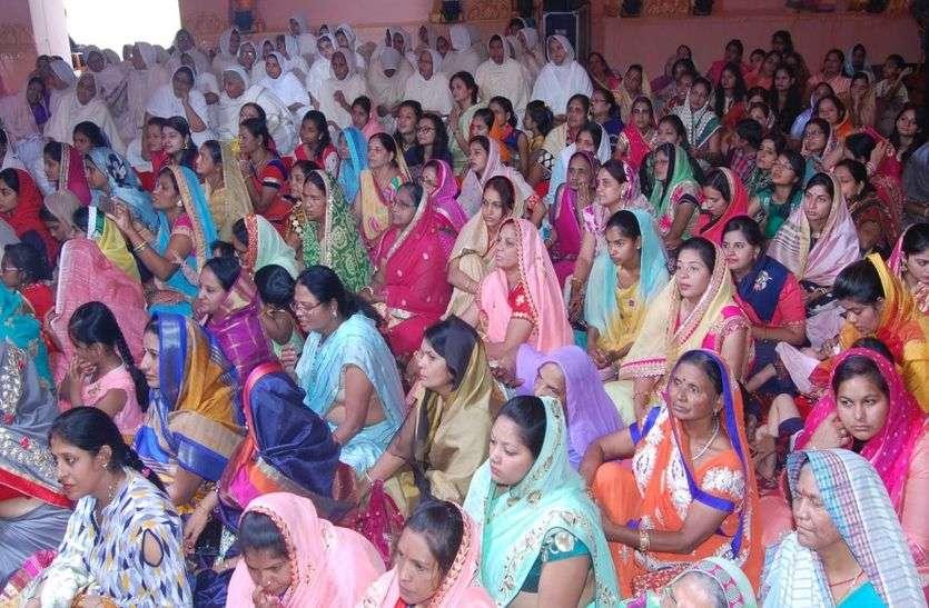 सियाणा कस्बे में भगवान के जन्मोत्सव पर परियों ने किया मंगल नृत्य
