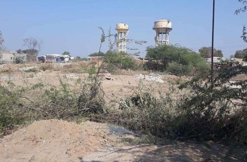 सांचौर में रीको की ये करोड़ों की जमीन अतिक्रमण की जद में