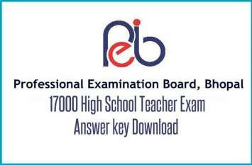 उच्च माध्यमिक शिक्षक पात्रता परीक्षा कैमिस्ट्री और पॉलीटिकल साइंस
