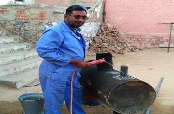 9वीं पास पुश्तैनी मैकेनिक उमेद ने चार साल संघर्ष कर बना दिया प्रदूषण नियंत्रण उपकरण, राजस्थान में किसी ने नहीं बनाया