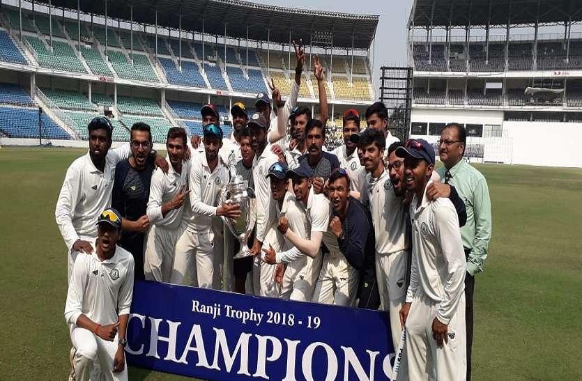 Ranji Trophy : सरवाटे की दमदार गेंदबाजी, सौराष्ट्र को 78 रन से हरा विदर्भ दूसरी बार बना चैम्पियन
