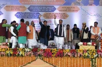केंद्रीय मंत्री नितिन गडकरी ने अयोध्या में किया 11 हजार करोड़ की परियोजनाओं का शिलान्यास