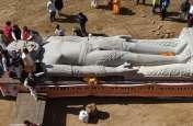भगवान बाहुवाली की प्रतिमा विराजमान