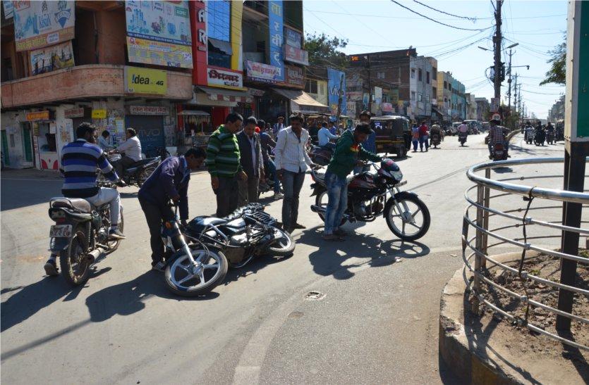 सड़क सुरक्षा का आखरी दिन आज, सड़क पर नहीं दिखा असर, पढ़े खबर