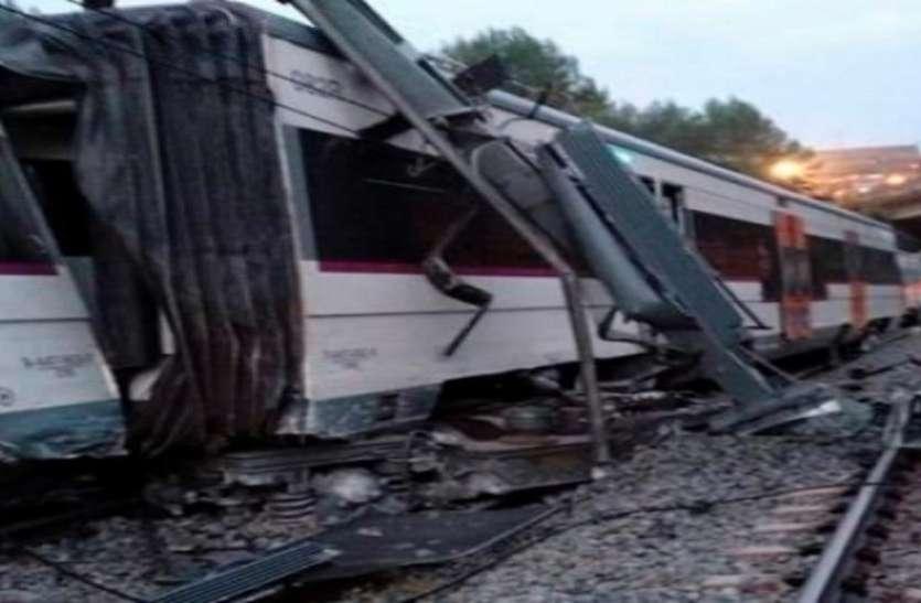 स्पेन: दो ट्रेनों में आमने-सामने की टक्कर, एक की मौत, 95 घायल