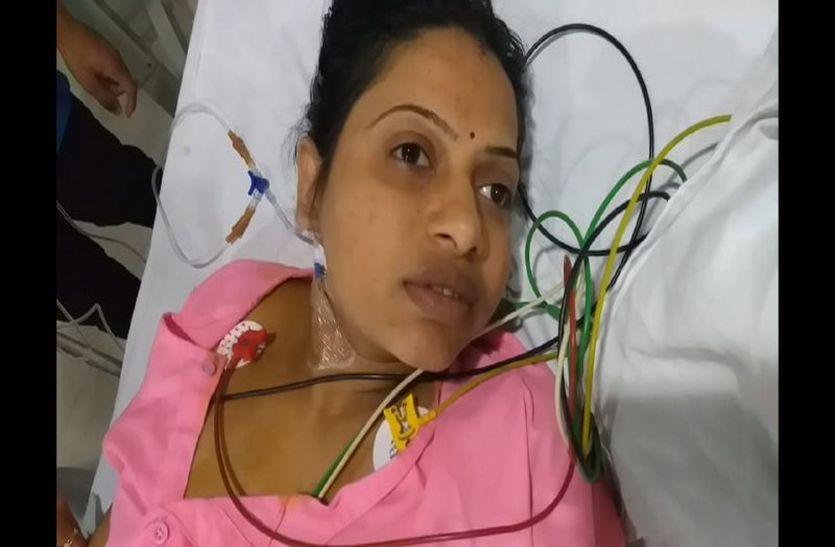कपड़े में लिपटा लोडेड कट्टा जमींन पर गिरते चला, पेट में गोली लगते गर्भवती ने मांगी परिजन से मदद