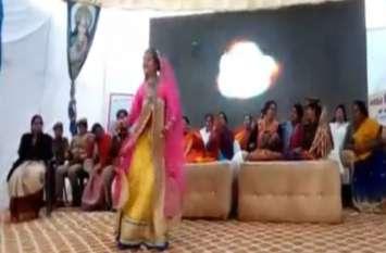 मेलारामनगरिया में महिला सम्मेलन का आयोजन, देखें वीडियो