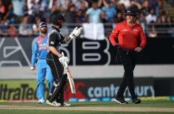 भारत बनाम न्यूजीलैंड T20 मैच में खड़ा हुआ बड़ा विवाद, डीआरएस हारा लेकिन खेल भावना जीती