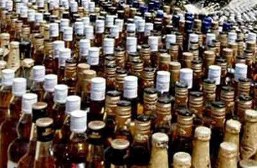 38  करोड़ से अधिक की शराब पी गए जिले भर के पियक्कड़