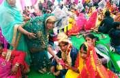 मुख्यमंत्री सामूहिक विवाह योजना : एक-दूजे के हुए 363 जोड़े, देखें वीडियो