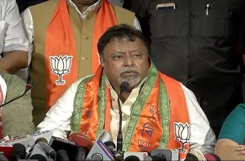 विपक्ष के 107 विधायक बीजेपी में होंगे शामिल : मुकुल रॉय